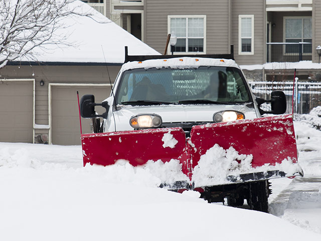 Commercial Snow and Ice Removal Truck