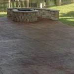Stained and Stamped Concrete Patios I Supreme Green KC