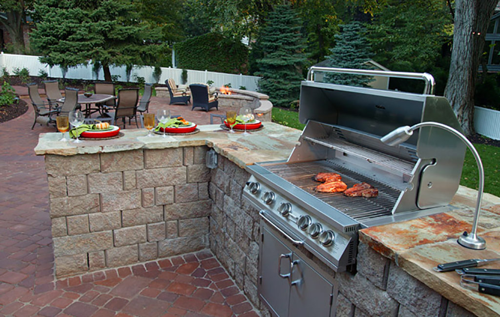 Outdoor Kitchens In Kansas City Supreme Green Landworks
