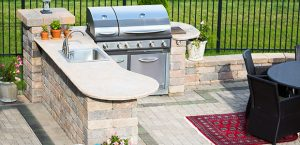 Outdoor Kitchen - Hardscape